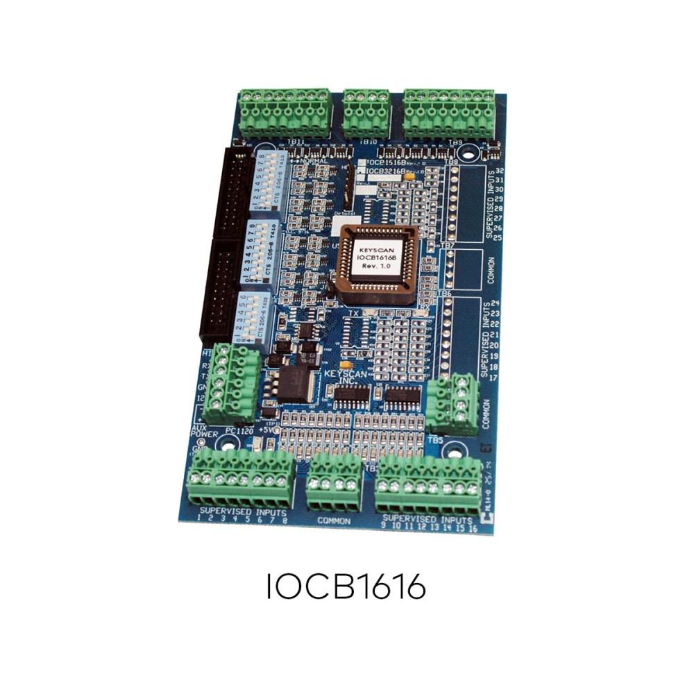 medium resolution of iocb1616 peripherals controllers keyscan ead
