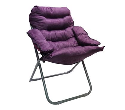Cheap College Club Dorm Chair  Plush  Extra Tall