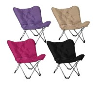 Dorm Lounge Chairs - Memory Foam Butterfly Chair - College ...