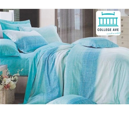 Aqua Sands Dorm Bedding for Girls Twin XL Comforter Extra Long