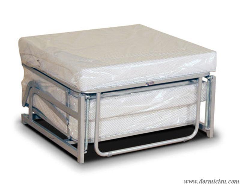 Materasso Ortopedico Indeformabile D30R per Pouff Letto  Dormicisucom