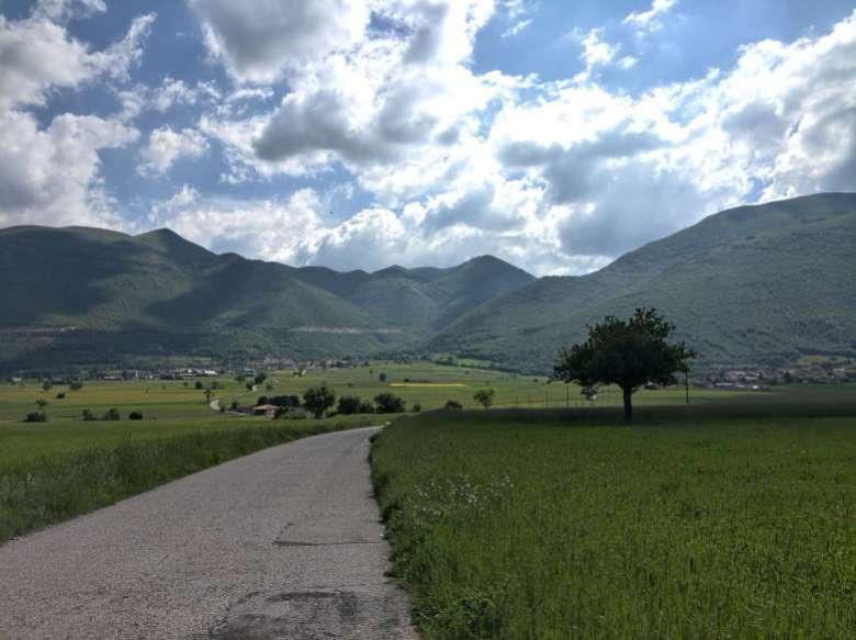 passeggiata nel Parco dei Monti Sibillini