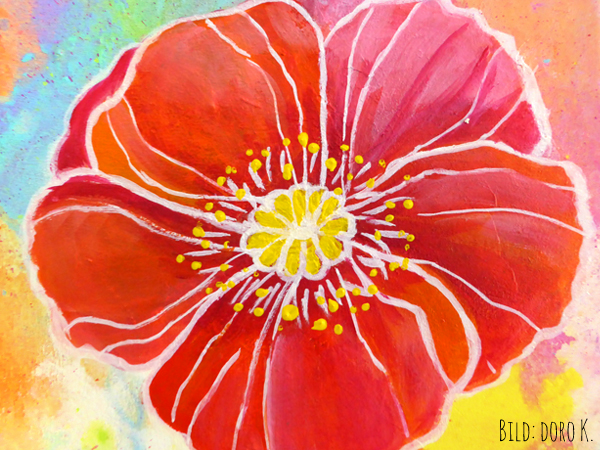 Blumen in Acryl - Doro Kaiser | Grafik & Illustration