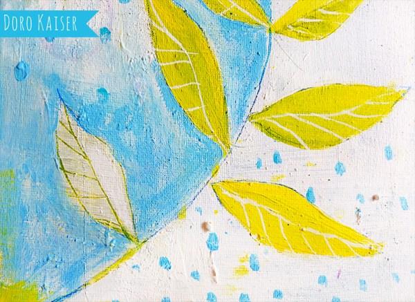 Acrylbild Detail