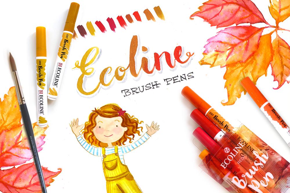 Test ECOLINE Brush Pen