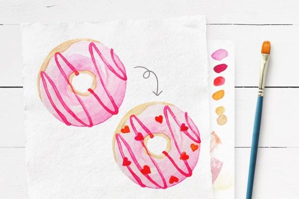 Malanleitung Donut