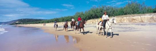 032004 Double Island Point Horse Riding on Rainbow Beach