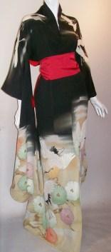 vintage kimono vintage uchikake taisho
