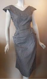 50s dress wiggle dress