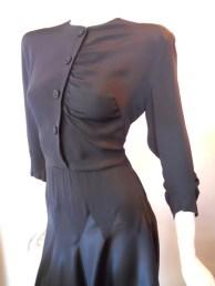 40s dress vintage dress vintage clothing