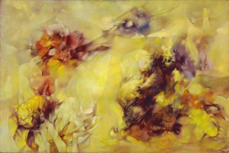 Tempte En Jaune Tempest In Yellow Dorothea Tanning