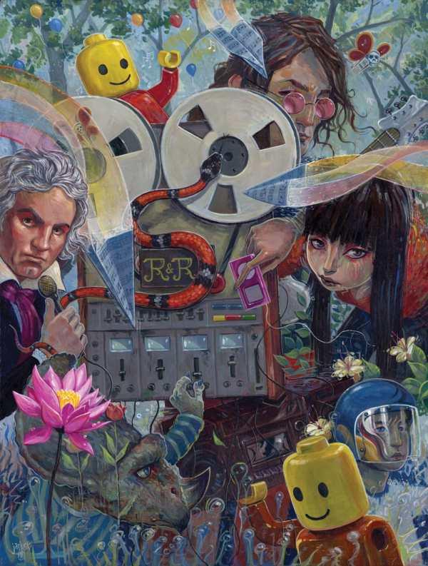 Pop Surrealism - Stay Foolish Dorothy Circus