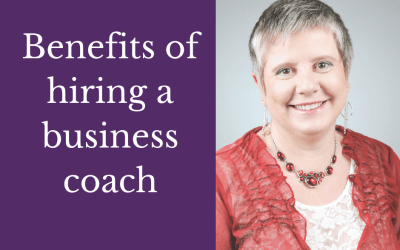 The benefits of hiring a business coach early in your business journey