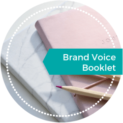 Brand Voice Booklet