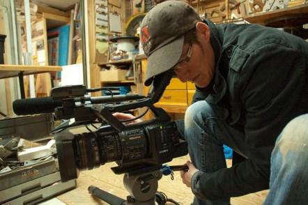 Kate shooting Tony interview-Klint Burton