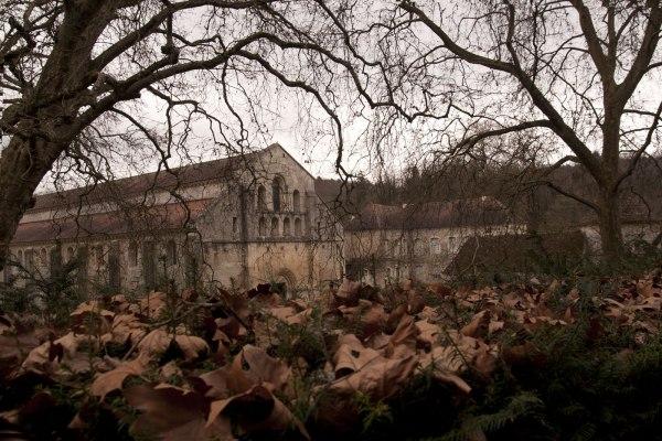 De abdijkerk van Fontenay