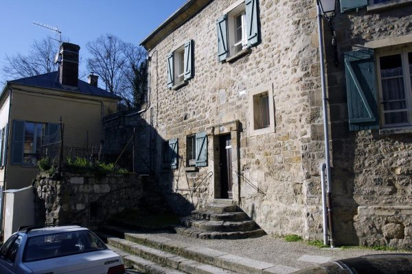 huis bij de kerk Auvers-sur-Oise dorp Frankrijk val dus oise vincent van gogh