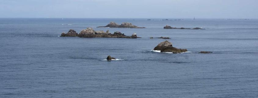 La Pointe de Corsen in Bretagne is het westelijkste puntje van Frankrijk
