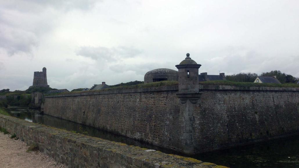 Het fort La-Hougue in Saint-Vaast-la-Hougue