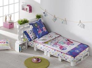Decoracion nouveau estilo- Gamanatura Parure de lit imprimée enfant CHLOE de 90cms. (plusieurs dimensions) 105 Unique