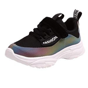 Heecaka Kids Boys Girls Sport Running Shoes Lightweight Breathable Sneakers