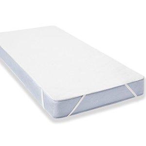 Protège Matelas alèse Imperméable pour Lit de Blanc ( 140×200 – 140×190 cm) Uniento