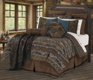 HiEnd Accents Rio Grande Duvet Cover Set, Queen by HiEnd Accents