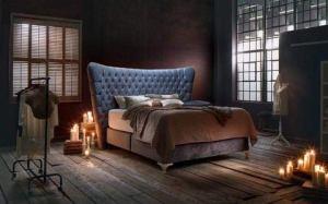 Betten-Haskins Secret» Lit à sommier tapissier