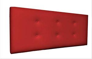 Suenoszzz Tête de lit Bruxelles pour lits 90 100X57 rouge