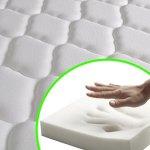 WEILANDEAL lit avec Matelas en Tissu Gris Clair 140x 200cm Lits Hauteur de Les Lattes Depuis Le Sol: 25–27cm