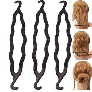 KinshopS Plat à Cheveux Style Fille Style Coiffure Double Fesse Coiffure créative