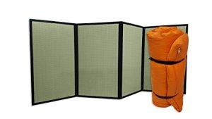 Combination Tatami Pliant et Futon Portable Orange, 200x80x4 cm