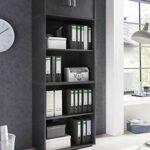 Surmeuble/meuble suspendu Maxi-office 2 portes – graphite