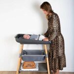 Trousse baby necessities Simili cuir Brun – Childhome
