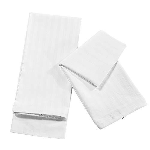 Emoshayoga Taie d'oreiller anti-acariens hypoallergénique confortable (51 x 102 cm)