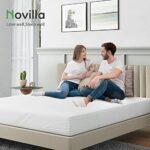 Novilla Matelas, Mousse, Blanc, 180 x 200 cm