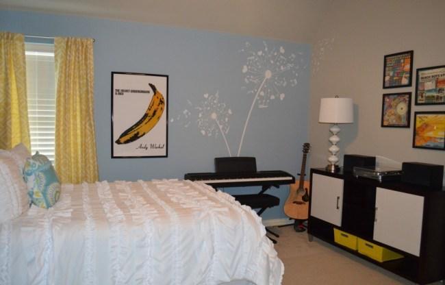 Artsy Teen Bedroom