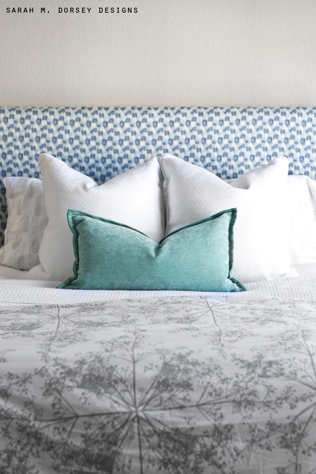 super simple upholstered headboard | tutorial - dorsey designs