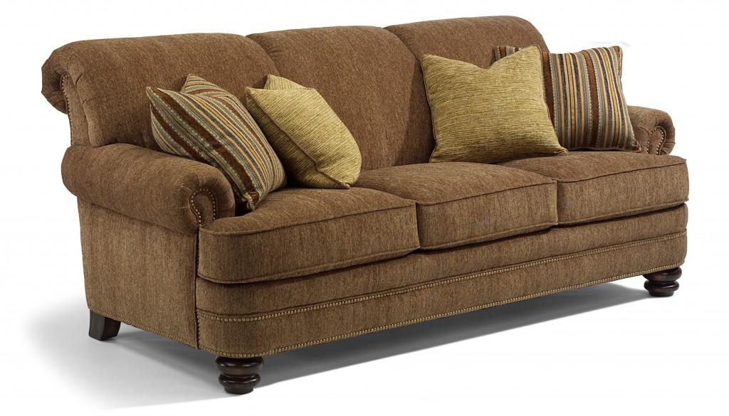 flexsteel sofa sets loveseat recliner combo bay bridge set vintage family heirloom look