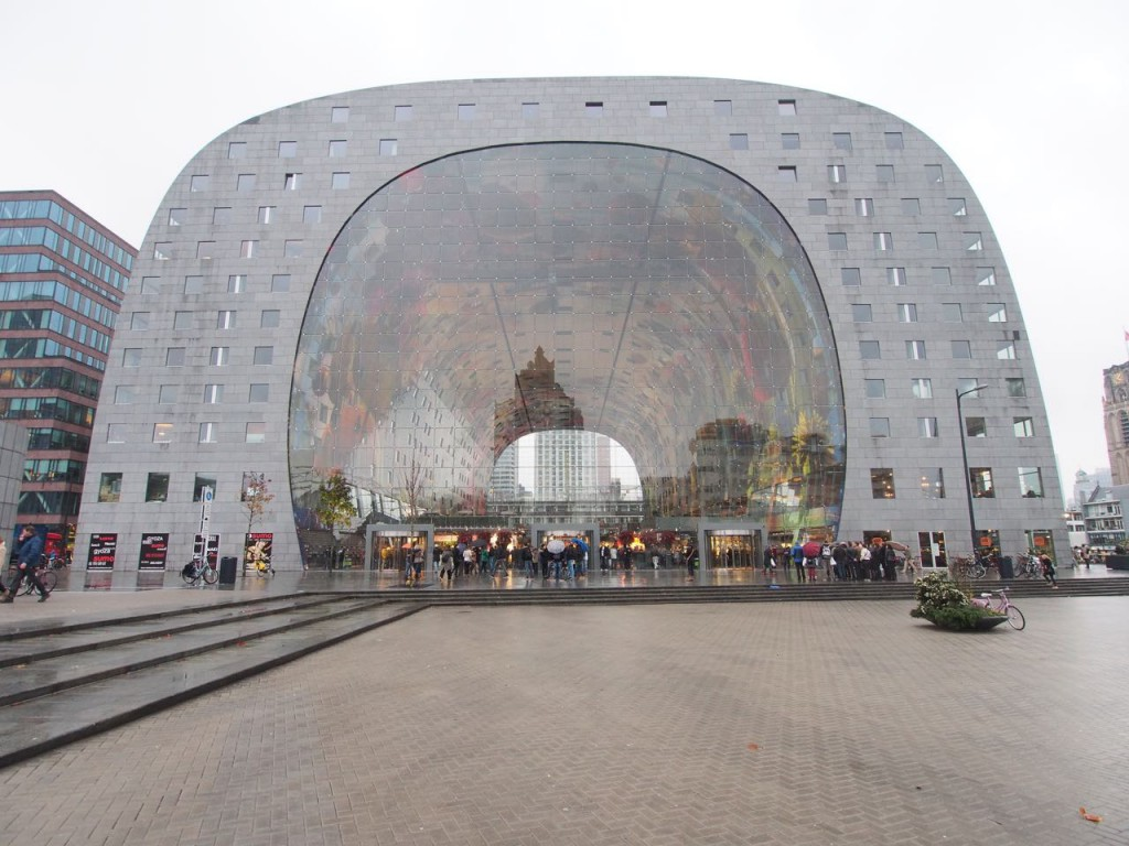 Markthal, opened in October 2014