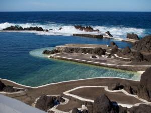 Natural swimming pool at Porto Moniz