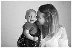 Mum and baby studio photography
