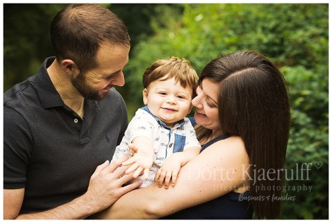 Family baby photography