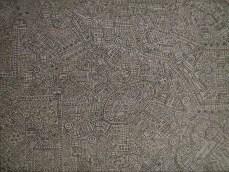 Villakvarter - grå 2016 60x80 Akryl på lærred