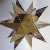 Den færdige 16 takkede stjerne
