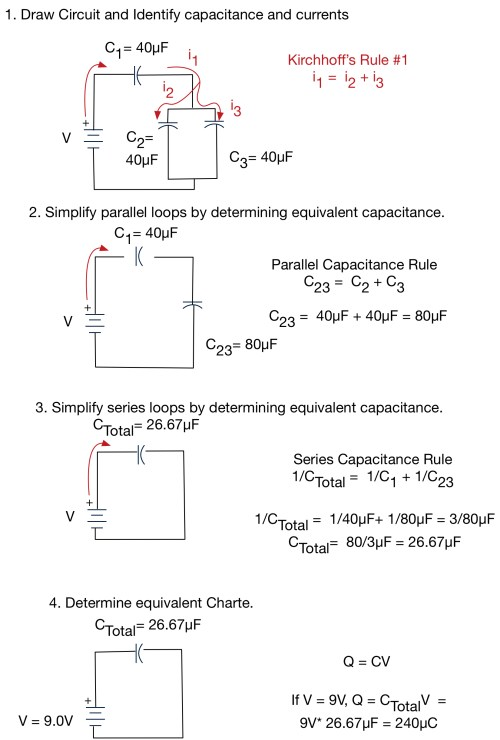 small resolution of resistor and capacitance circuits