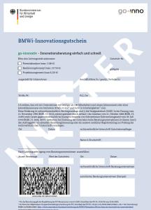 BMWi-Innovationsgutschein go-inno