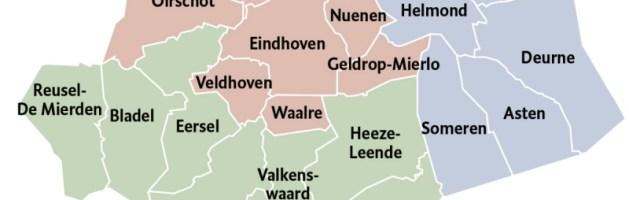 Herindeling in Zuid Oost Brabant