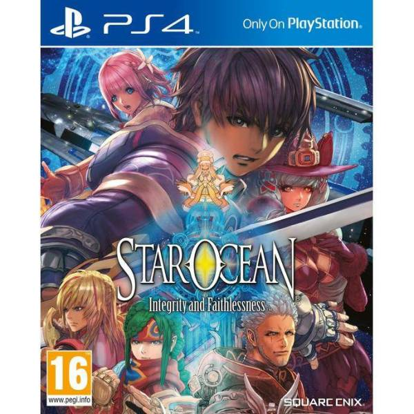 Star Ocean V: Integrity and Faithlessness PS4