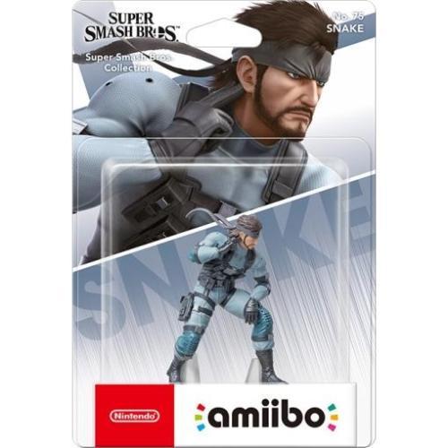 Amiibo Snake Super Smash Bros. Collection 75
